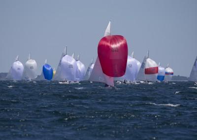 2014 Etchells Worlds, NYYC Newport, RI